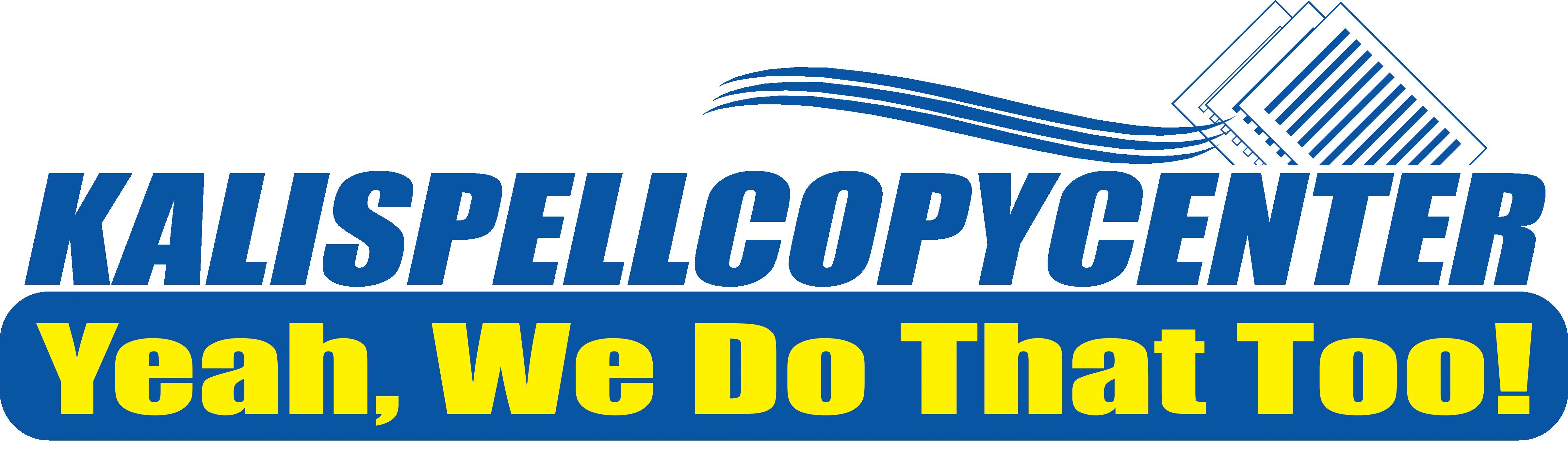 Kalispell Copy Center Catalog