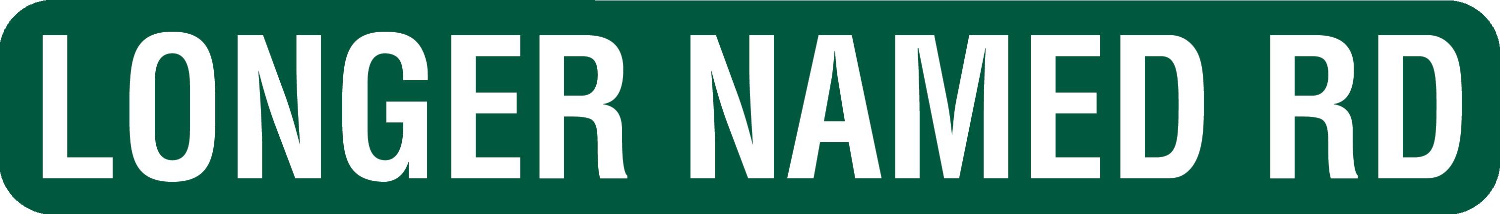 6x42 Street Sign